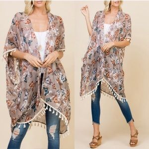 Other - Beautiful Sequin Butterfly Kimono 🦋